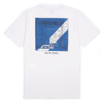 LASER T-Shirt FLAGSHIP SIGNATURE white