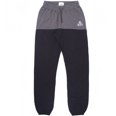 LASER Sweatpants MONTSENY MIDNIGHT charcoal/black