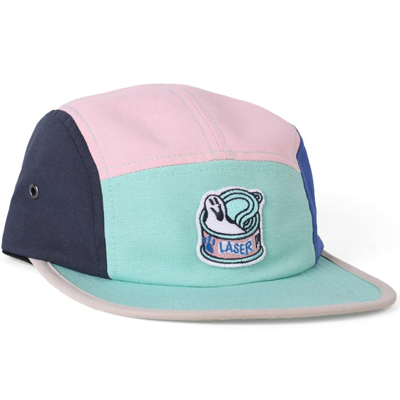 LASER 5Panel Cap SAWE CAT lotus/mint/blue