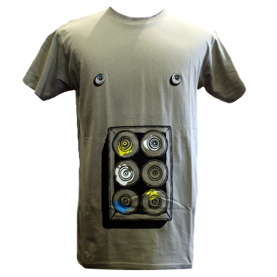 LAYUP 10 Years T-Shirt SIXPACK stone grey
