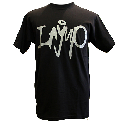 LAYUP T-Shirt TAG black/silver