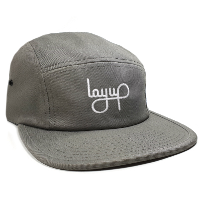 LAYUP 5Panel Cap LOGO dark grey
