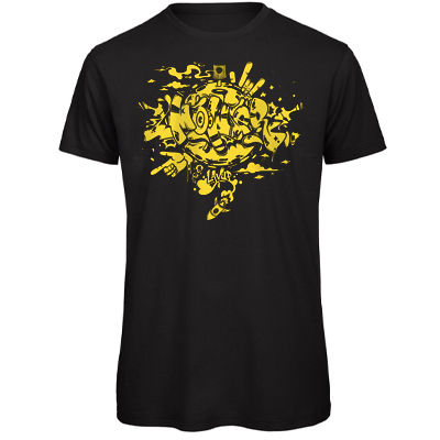 LAYUP T-Shirt MOWER black/yellow