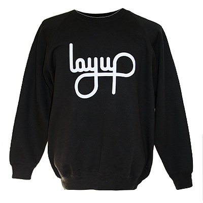 LAYUP Sweater LOGO black