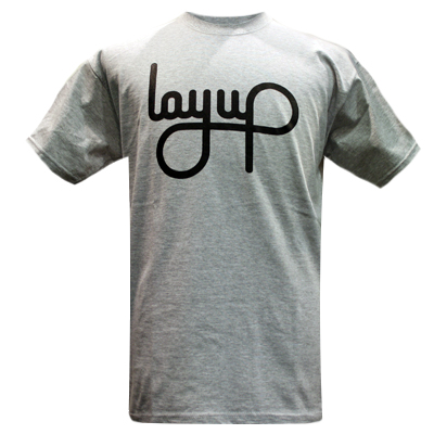 LAYUP T-Shirt LOGO heather grey