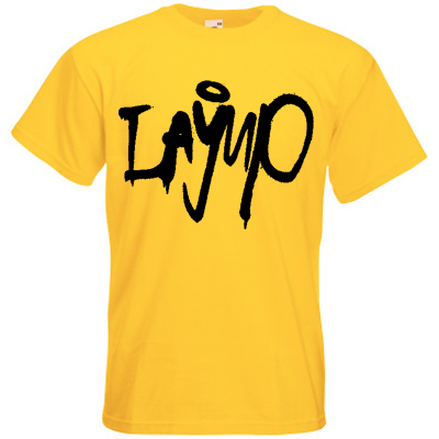 LAYUP T-Shirt TAG yellow/black
