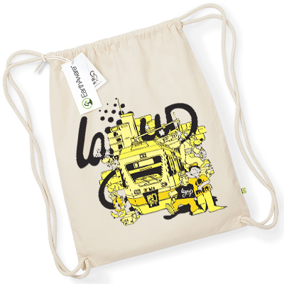 LAYUP Turnbeutel BERN CITY LIFE natural/yellow