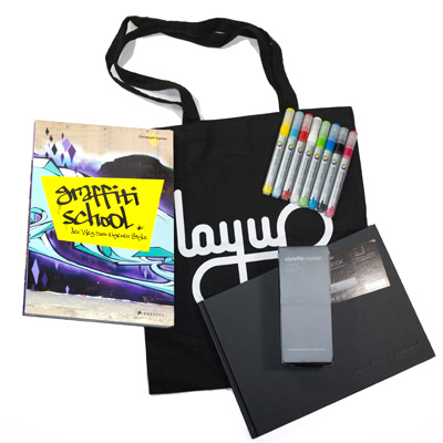 Graffiti Starterkit I Gift-Set