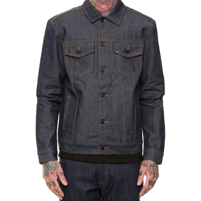 REBEL8 Denim Jacke LEADERS OF THE PACK raw indigo