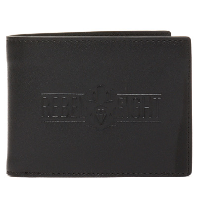 REBEL8 Leather Wallet CLASSIC black