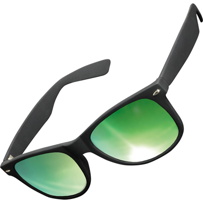 KMA Sunglasses LIKOMA black/green
