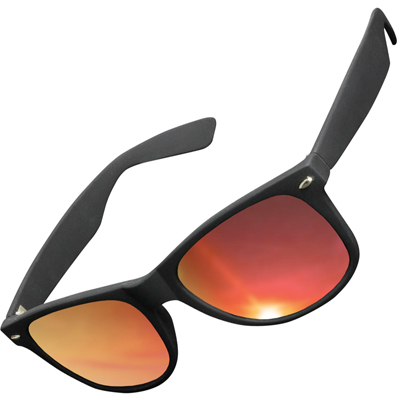 KMA Sunglasses LIKOMA black/red