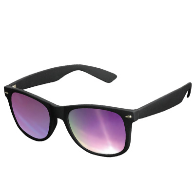 KMA Sunglasses LIKOMA black/purple
