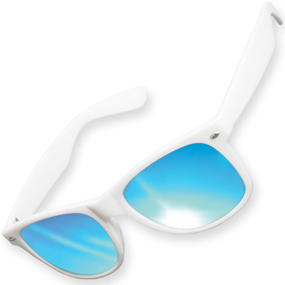 KMA Sunglasses LIKOMA white/blue