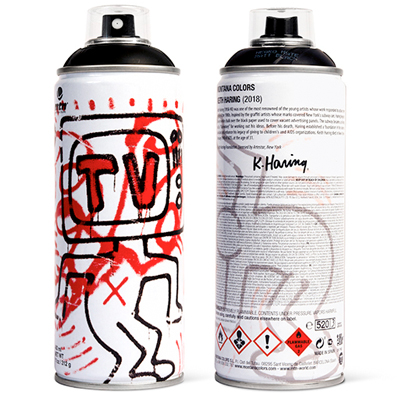 MTN Limited Edition KEITH HARING black