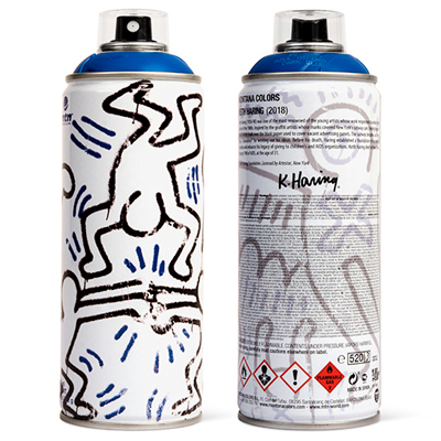 MTN Limited Edition KEITH HARING blue