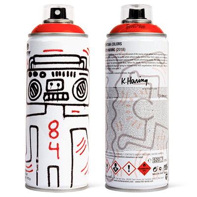 MTN Limited Edition KEITH HARING red
