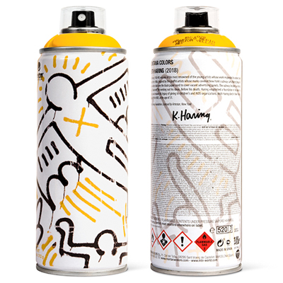 MTN Limited Edition KEITH HARING yellow