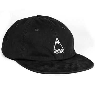 LASER 6Panel Cap LLACUNA POLO HAT black