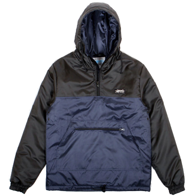 ANTEATER Winter Jacke LONG ANORAK navy/black