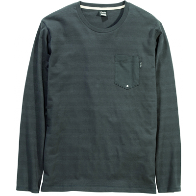 CLEPTOMANICX Longsleeve Shirt HUBBLE black
