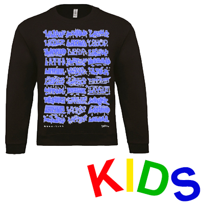 LAYUP Sweater LOUANE HIGHLIGHTS black/blue - Kids