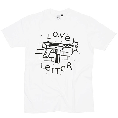 IGNORANT PEOPLE T-Shirt LOVE LETTER white