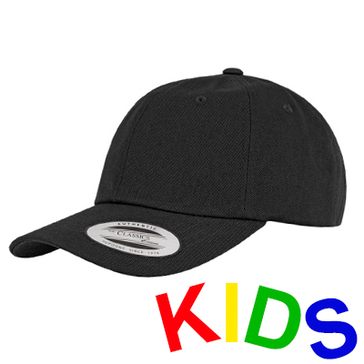 FLEXFIT Low Profile Baseball Cap black - Kids