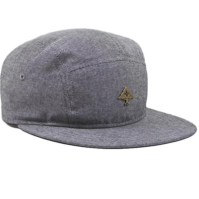 LRG 5Panel Cap FREE BRICKS black heather