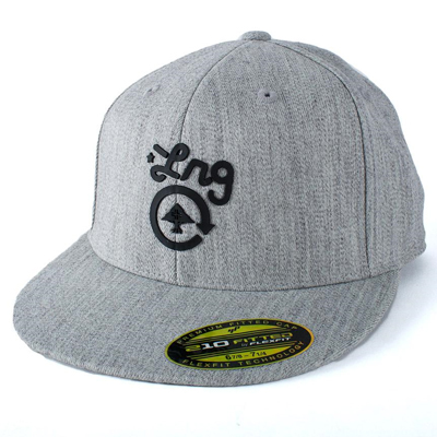 LRG Flexfit 210 Hat GET EM heather grey