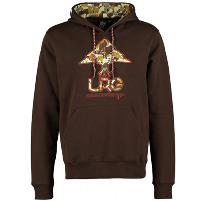 LRG Hoody RC LOGO dark chocolate