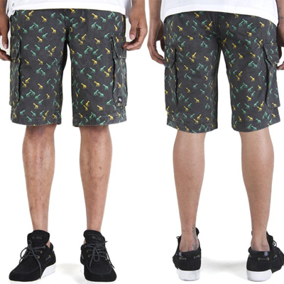 LRG Cargo Shorts BRIGHTEST HEARD black