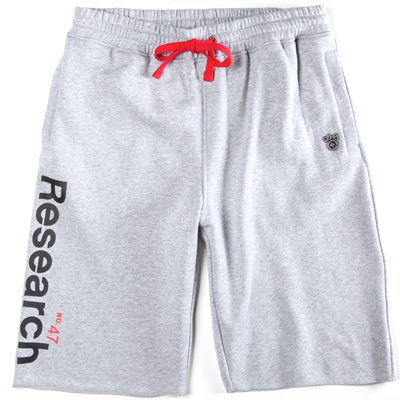 LRG Sweat Shorts RESEARCH heather grey