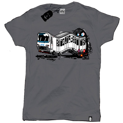 VANDALS ON HOLIDAYS T-Shirt MARSEILLE dark grey