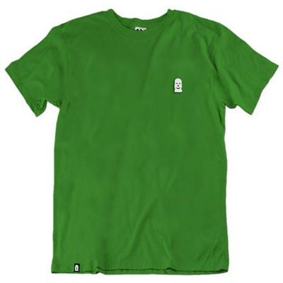VANDALS ON HOLIDAYS T-Shirt MASK BASIC green