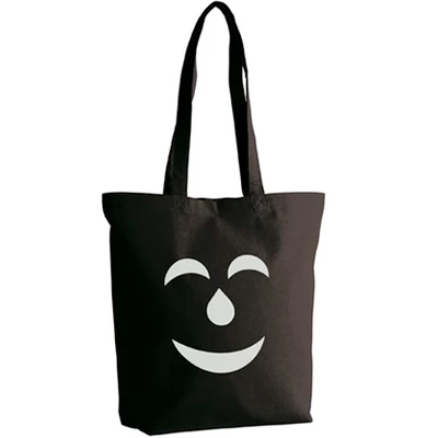 VANDALS ON HOLIDAYS Tote Bag MASK black/white