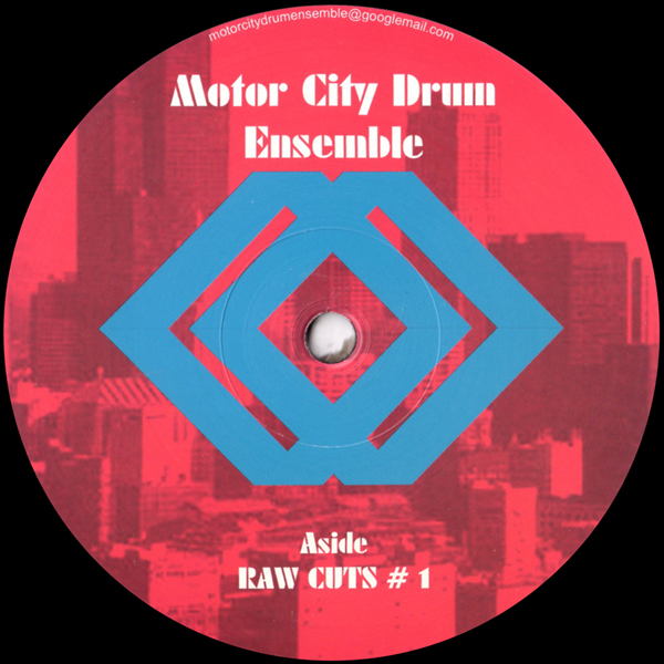 Motor City Drum Ensemble - Raw Cuts No 1 - Vinyl 12""