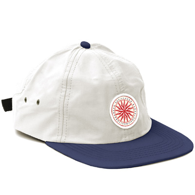 LASER 6Panel Cap MEDITERRANEAN SEA white/navy