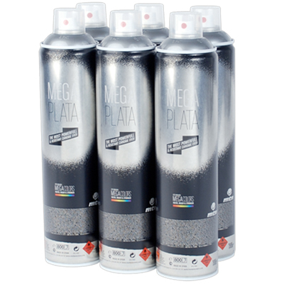MONTANA COLORS MTN Mega Colors 600ml Spray Can 6-Pack
