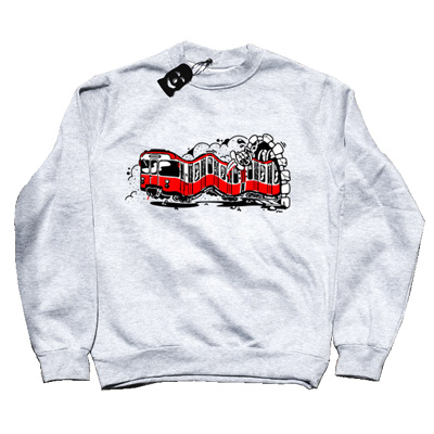VANDALS ON HOLIDAYS Sweater MILANO ash grey