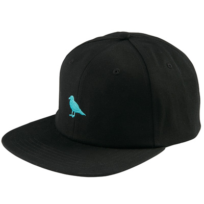 CLEPTOMANICX Snap Back Cap MINI GULL black/turquoise