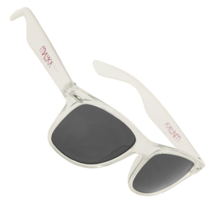 MISHKA Sonnenbrille CYRILLIC GORE frosted white
