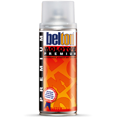 BELTON MOLOTOW PREMIUM TRANSPARENT 400ml Spray Can