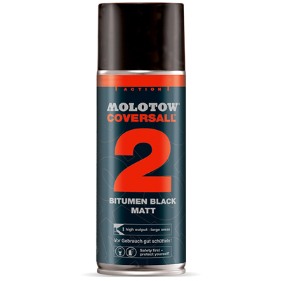 MOLOTOW Teerspray COVERSALL 2 400ml matt