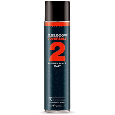 MOLOTOW Teerspray COVERSALL 2 600ml matt