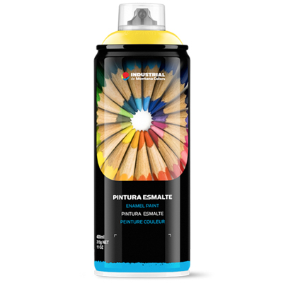 MTN Industrial Enamel Paint RAL-Colors 400ml glossy