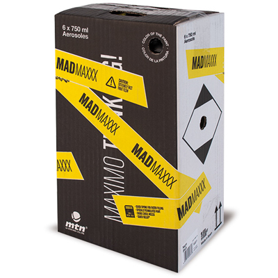 MTN 750ml Spray Can MAD MAXXX 6-Pack