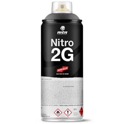 MTN NITRO 2G 400ml Spray Can black