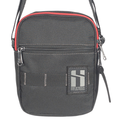 c9a8dd0920 MR. SERIOUS Shoulder Bag PLATFORM POUCH black