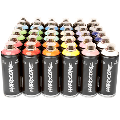 MTN Hardcore 400ml Spraydosen 36er Pack
